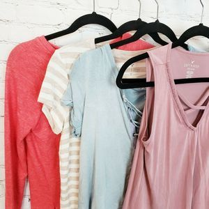 American Eagle Soft & Sexy Lot Of 4 Tops